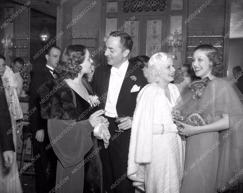 1935 Oscars candid William Powell Jean Harlow Loretta Young aa1935-04