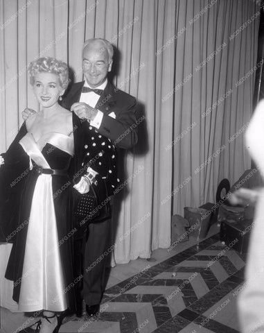 1949 Oscars Bill Boyd and date arriving Academy Awards aa1949-32</br>Los Angeles Newspaper press pit reprints from original 4x5 negatives for Academy Awards.