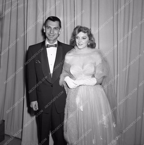 1949 Oscars Jack Webb Julie London at Academy Awards aa1949-70</br>Los Angeles Newspaper press pit reprints from original 4x5 negatives for Academy Awards.