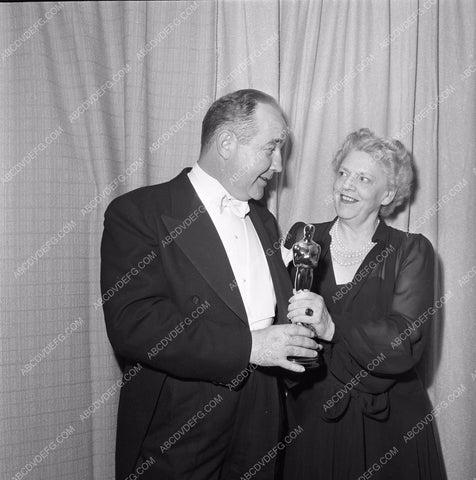 1949 Oscars Broderick Crawford Ethel Barrymore Academy Awards aa1949-80</br>Los Angeles Newspaper press pit reprints from original 4x5 negatives for Academy Awards.