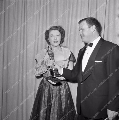 1949 Oscars Joseph L. Mankiewicz and Academy Awards aa1949-83</br>Los Angeles Newspaper press pit reprints from original 4x5 negatives for Academy Awards.