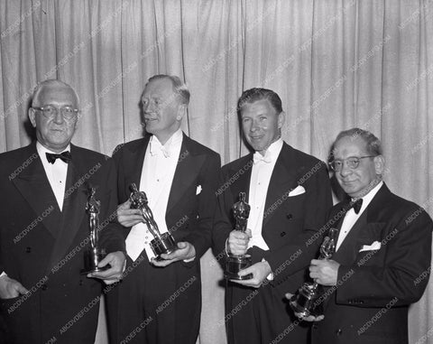 1949 Oscars George Murphy and technical winners Academy Awards aa1949-91</br>Los Angeles Newspaper press pit reprints from original 4x5 negatives for Academy Awards.