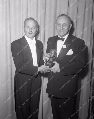 1951 Oscars Darryl F. Zanuck Arthur Freed Thalberg Academy Award aa1951-09</br>Los Angeles Newspaper press pit reprints from original 4x5 negatives for Academy Awards.