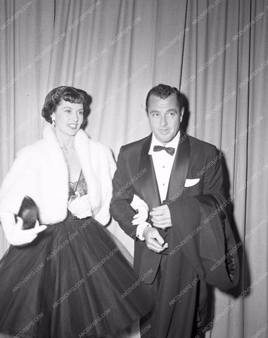 1951 Oscars Cyd Charisse Tony Martin Academy Awards aa1951-23</br>Los Angeles Newspaper press pit reprints from original 4x5 negatives for Academy Awards.