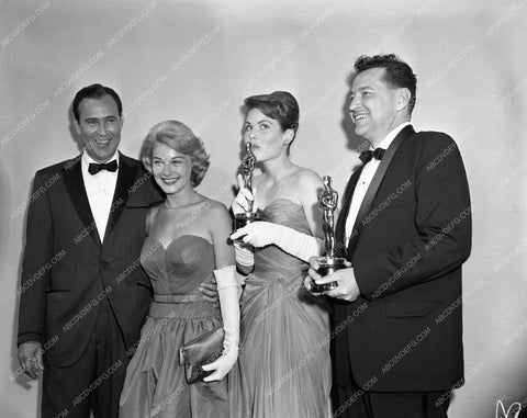1959 Oscars Hope Lange Carl Reiner short subjects Academy Awards aa1959-01</br>Los Angeles Newspaper press pit reprints from original 4x5 negatives for Academy Awards.