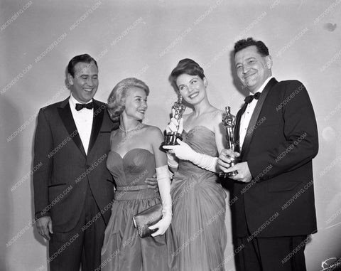 1959 Oscars Hope Lange Carl Reiner Academy Awards aa1959-66</br>Los Angeles Newspaper press pit reprints from original 4x5 negatives for Academy Awards.