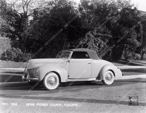 1939 Ford Convertible Coupe automobile cars-26