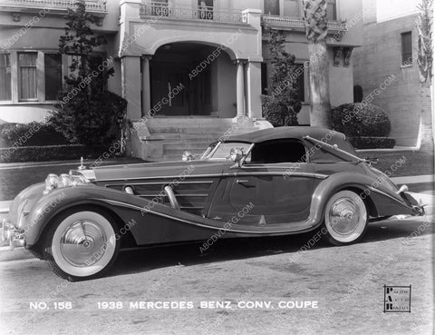 1938 Mercedes Benz convertible coupe vintage automobile WOW cars-86