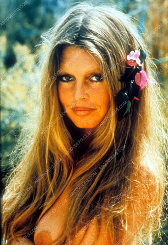 bare and revealing Brigitte Bardot outdoors portrait dp-12837