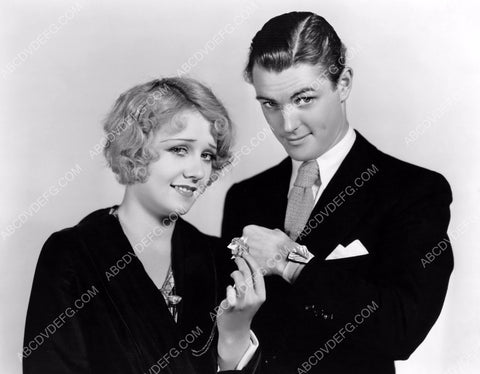 Anita Page and guy with cool sun-dial watch 8b20-5689