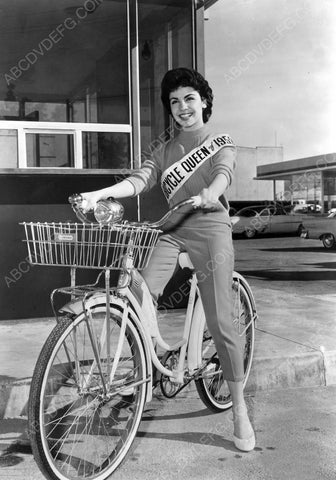 Annette Funicello 1953 Bicycle Queen 8b20-6751