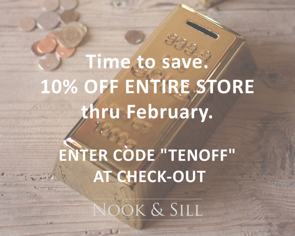 "February Sale: ""Time to Save"""