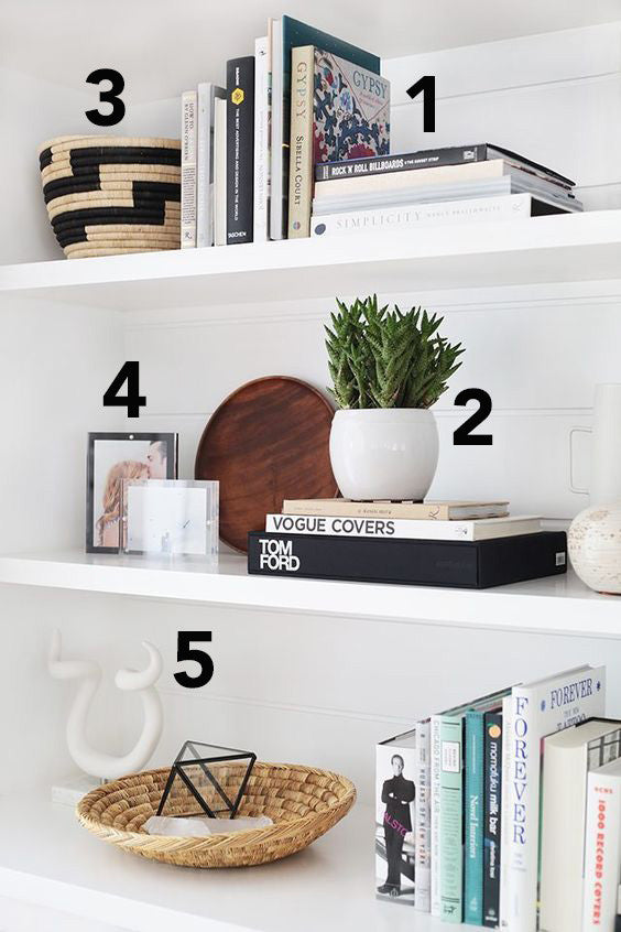 5 Must-Haves for the Perfect Bookshelf