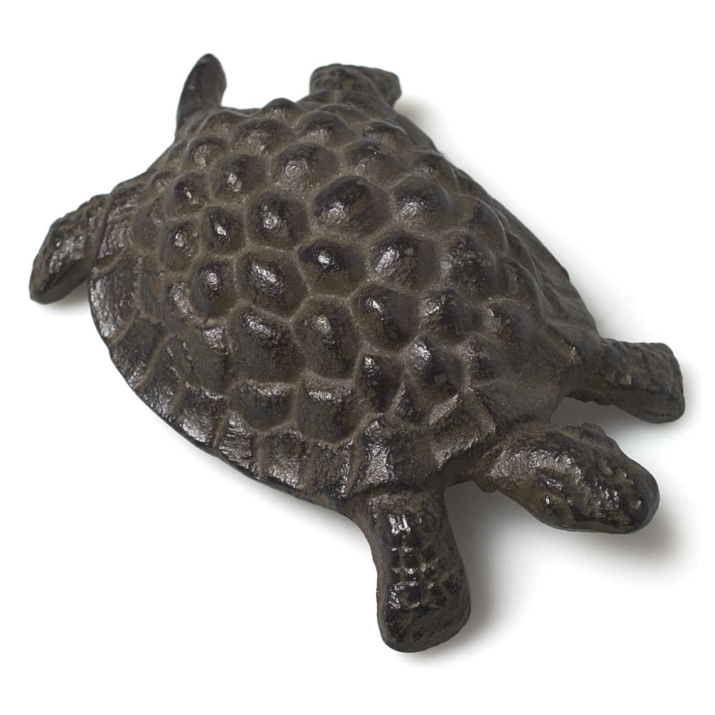 Cast Iron Statuette: Turtle