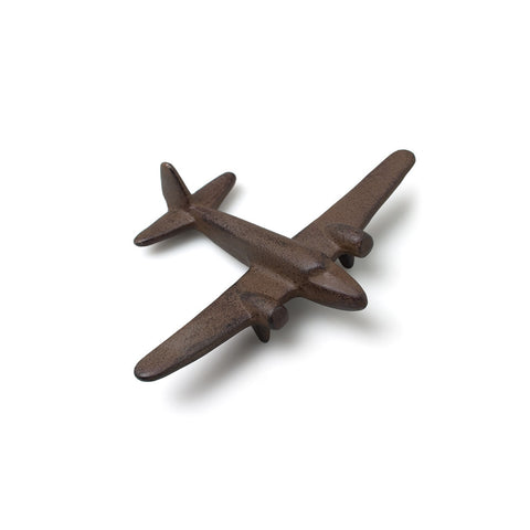 Cast Iron Statuette: Airplane