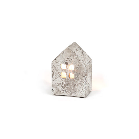 Wide House Candle Holder: Small