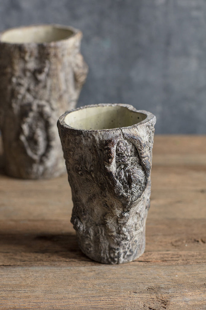 Tree Trunk Pot - Small