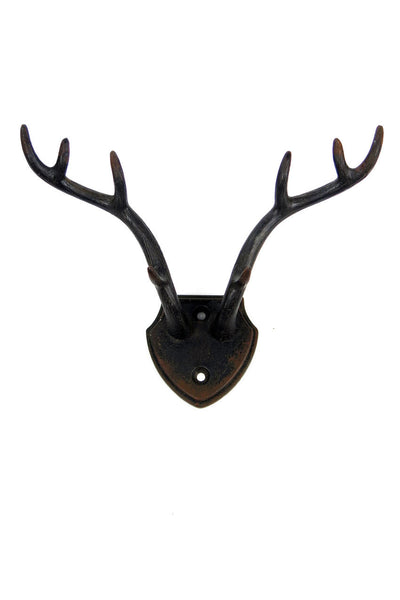 Wall Hook: Antler Dark