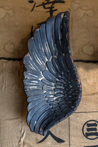 Wing Tray: Rustic Black