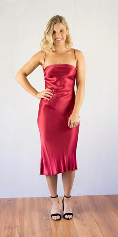 Decadent Dress Red - Size 8