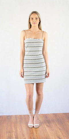 Icebergs Mini Dress Grey - Size 8
