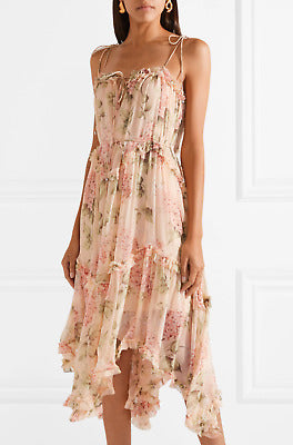 Zimmermann Prima Hydrangea Floating Dress - Size 2 (10)