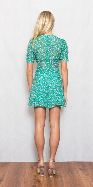 The Ozzie Dress Poison Ivy - Size XS