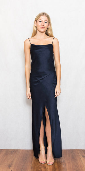 Bowery Dress Navy - Size 6