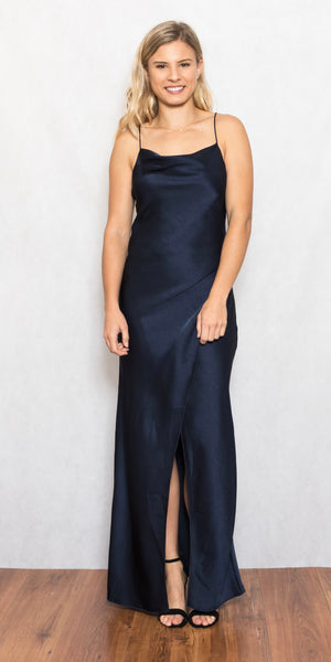 Bowery Dress Navy - Size 8