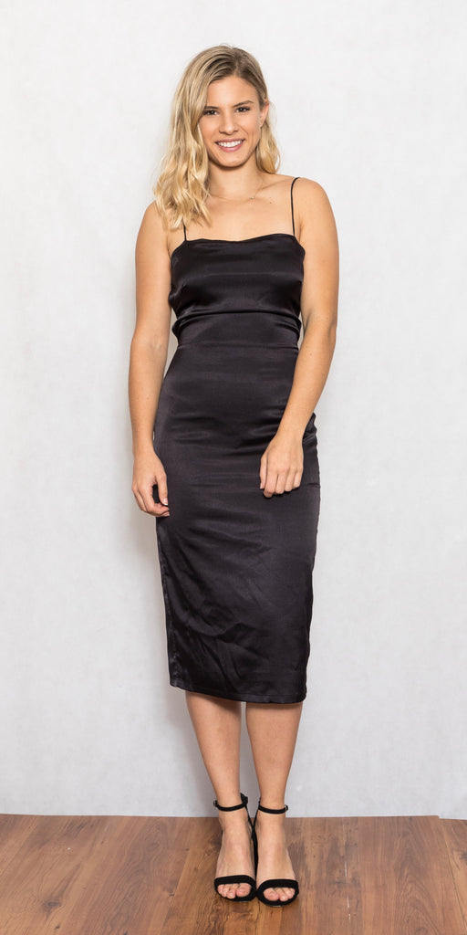 Apache Dress Black - Size 8