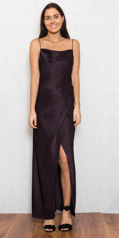 Bowery Dress Black Orchard - Size 10