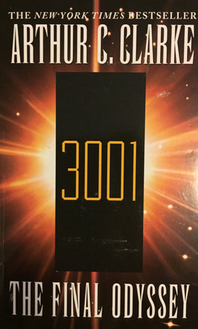 3001 The Final Odyssey by Arthur C. Clarke -- Paperback