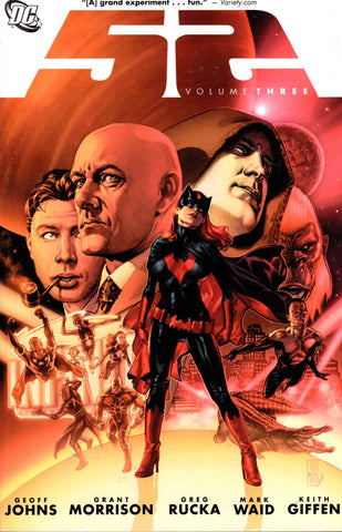 52 Volume Three by Geoff Johns, Grant Morrison