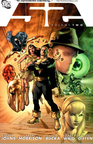 52 Volume Two by Geoff Johns, Grant Morrison