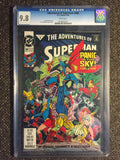 Adventures of Superman, The #488 CGC 9.8 (1992) front