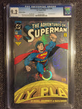 Adventures of Superman, The #505 CGC 9.2 (1993) Collector's Edition front