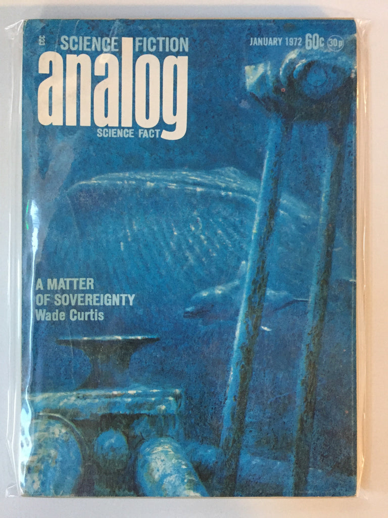 Analog Science Fiction--Science Fact (January 1972) -- Paperback