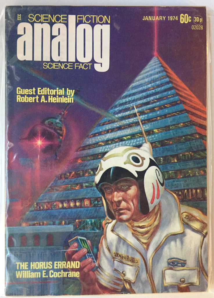 Analog Science Fiction and Fact (January 1974) Guest editor Robert A. Hainlein