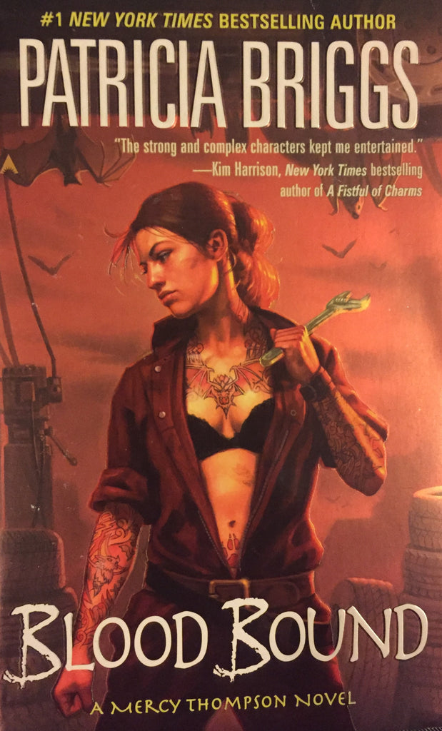Blood Bound by Patricia Briggs -- Paperback