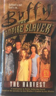 Buffy the Vampire Slayer The Harvest by Richie Tankersley Cusick