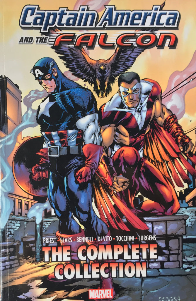 CAPTAIN AMERICA AND THE FALCON The Complete Collection