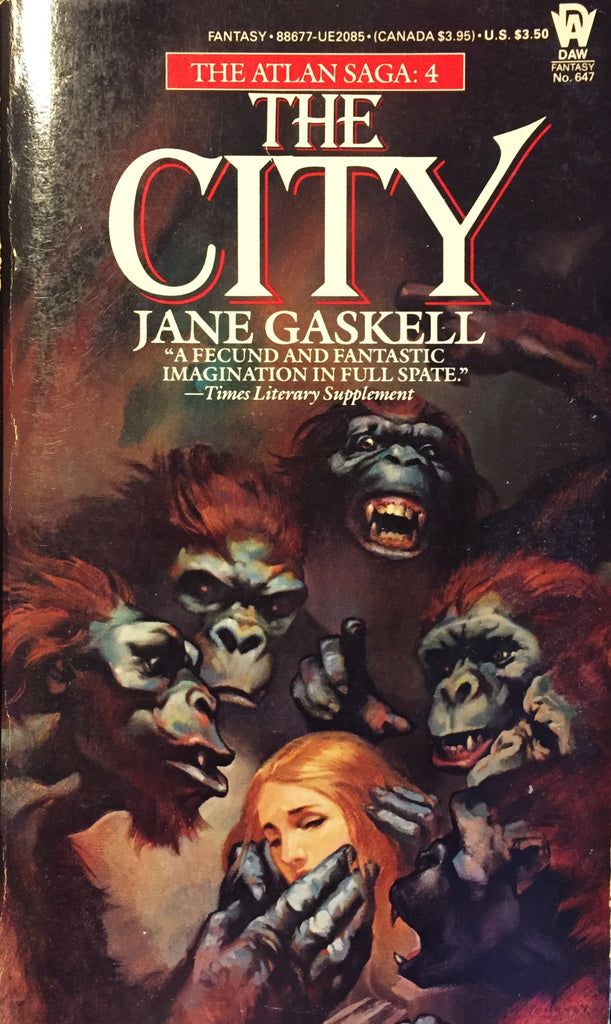 City, The by Jane Gaskell -- Paperback