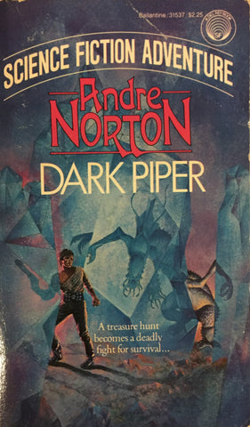 Dark Piper by Andre Norton -- Paperback
