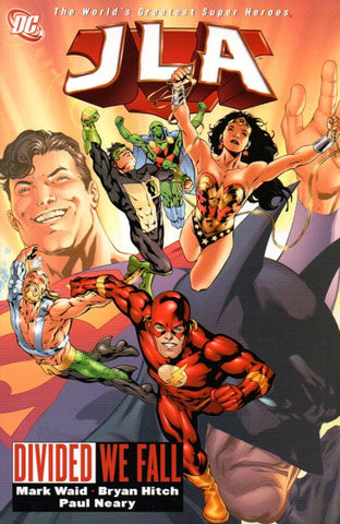 JLA: Divided We Fall by Mark Waid and Bryan Hitch Front