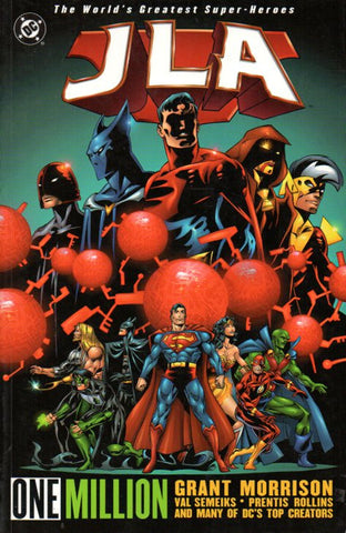 JLA: One Million by Grant Morrison Front