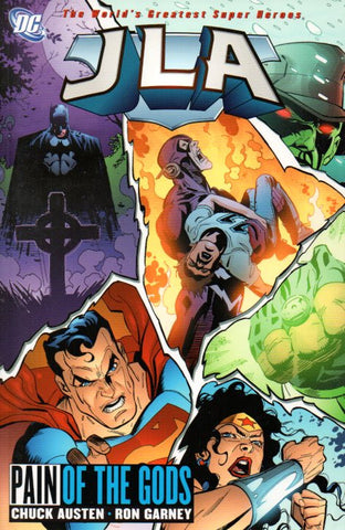 JLA: Pain of the Gods by Chuck Austen and Ron Garney Front
