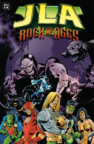 JLA: Rock of Ages by Grant Morrison and Howard Porter Front