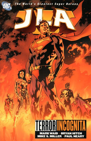 JLA: Terror Incognita by Mark Waid and Bryan Hitch Front