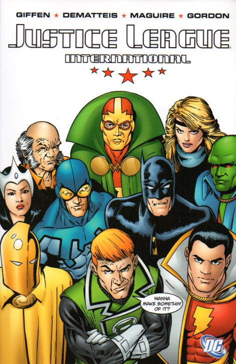 Justice League International by Keith Giffen, J.M. De Matteis, and Kevin Maguire Front