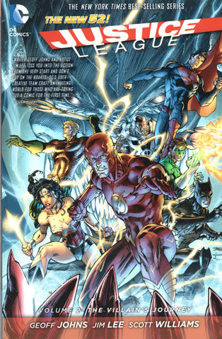Justice League, Vol. 2 The Villain's Journey (The New 52) by Geoff Johns, Jim Lee, and Scott Williams